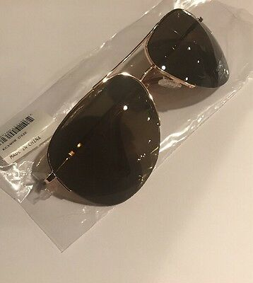 5d92af0456 Kenneth Cole Reaction Gold Rimless Sunglasses KC1098 32E Authentic • 10.00