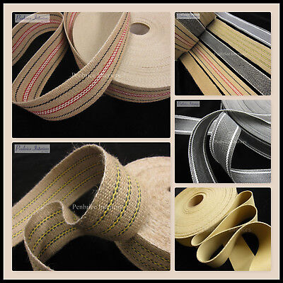£7.30 • Buy Upholstery Chair Webbing Traditional Jute Woven Craft Sewing Tapes Sofa Straps