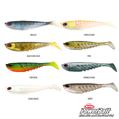AU14 • Buy Berkley Papa Giant Ripple Shad, Rigged/unrigged, Various Colours/sizes