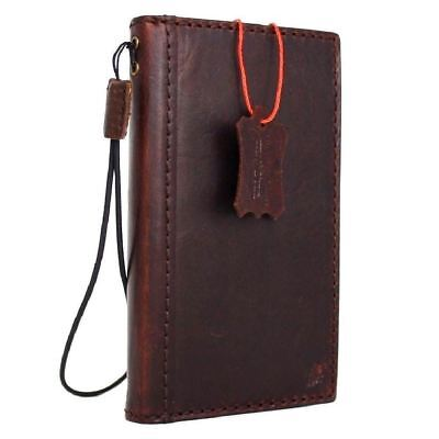 $ CDN38.91 • Buy Genuine Leather Case For Samsung Galaxy Note 8 Book Wallet Cover Slim Holder IL