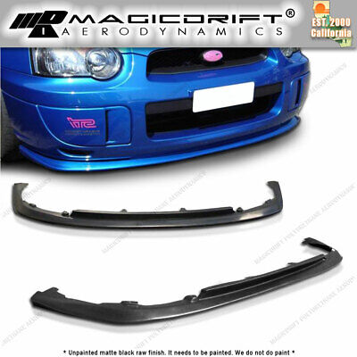 $71.88 • Buy For 04-05 IMPREZA WRX STI S203 CS1 V-limited Style Front Bumper Chin Spoiler Lip