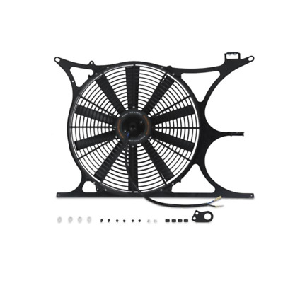 $247.95 • Buy Mishimoto Performance Radiator Fan Shroud + 16  Slim Fan For 1992-1999 BMW E36