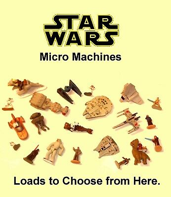 $ CDN8.80 • Buy Vintage Star Wars Micro Machines ~ LOADS TO CHOOSE FROM ~ Vehicles & Figures