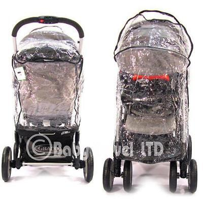 Travel System Zipped Raincover For Graco • 12.95£