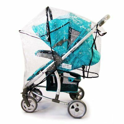 Travel System Raincover To Fit - Graco Fast Action Fold Sport (Heavy Duty, High • 12.95£
