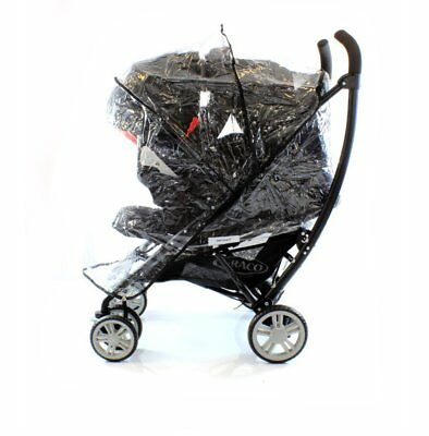 Universal Raincover To Fit Graco Mirage Classic & Graco Mosaic Travel System • 12.95£