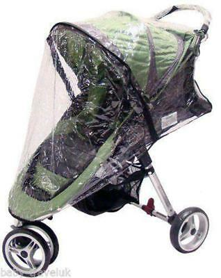 Rain Cover Universal Zipped Hauck Baby Jogger 3 Wheeler Pushchair Raincover • 11.95£
