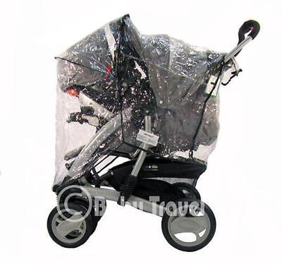 New Sale Travel System Zipped Rain Cover For Graco • 12.95£