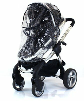 Zipped Raincover Fits Icandy Pear Apple Peach Strawberry Pushchair Carrycot Mode • 11.95£