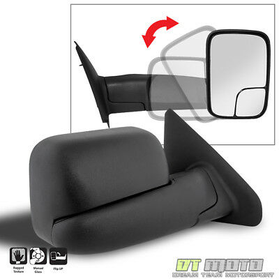 $48.99 • Buy [RIGHT, Passenger Side] 2002-08 Dodge Ram 1500/03-09 2500 3500 Tow Manual Mirror