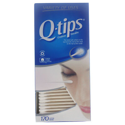 $ CDN9.11 • Buy Cotton Swabs By Q-Tips For Unisex - 170 Pc Swabs