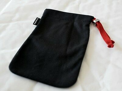 Genuine Nokia Black Cloth Draw String Pouch For Smaller Mobile Phones & Devices • 4.99£