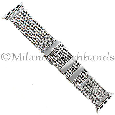 $ CDN66.99 • Buy 38mm Milano Two Piece Thick Mesh Stainless Mens Band FITS APPLE WATCH SERIES 1&2