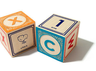 $59.95 • Buy Uncle Goose Classic Lowercase ABC Wooden Blocks 801359