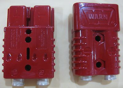 $51 • Buy WARN 22680 Electric Cable Quick Disconnect Connector Plug Wire Winch 175 Amp