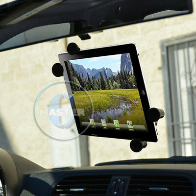 CAR MOUNT TABLET GLASS SUCTION HOLDER FOR IPAD AIR MINI PRO TAB NOTE NEXUS 7-10  • 8.08£