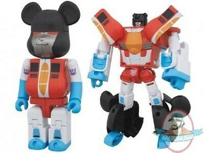 $84.99 • Buy Transformers Bearbrick Figure Starscream By Medicom