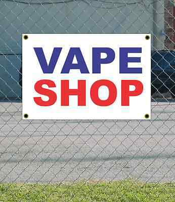 AU21.61 • Buy 2x3 VAPE SHOP Red White & Blue Banner Sign NEW Discount Size & Price