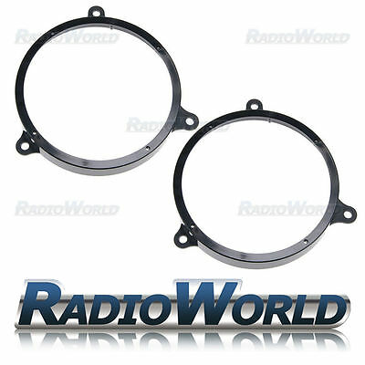 Toyota Avensis Yaris Corolla Door Speaker Adaptor Rings 6.5  165mm SAK-2914 • 9.99£