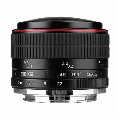 AU181.68 • Buy MEIKE MK-6.5mm F2.0 Fisheye Lens For Sony E-mount A6000 A6300 A6500 A7 A7R A7SII