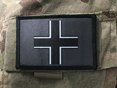 $7.99 • Buy WWII Iron Cross Morale Patch Tactical ARMY Hook Military USA Badge Flag