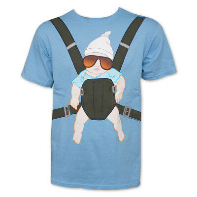 The Hangover Baby Carrier Light Graphic TShirt Blue • 21.42£