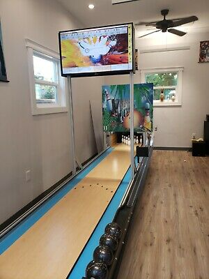 $22900 • Buy Mini Bowling Lane By Ball Bowler Has Free Fall Pins For Your Game Room Arcade!!!