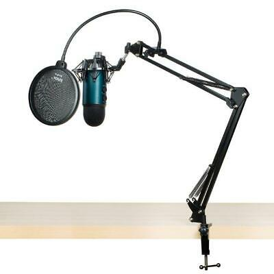 Blue Microphones Yeti Mic (Teal) With Boom Arm And Pop Filter With Shock Mount • 121.59£