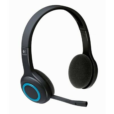 AU199.99 • Buy Logitech H600 Wireless Headset  USB Receiver Noise Cancelling 981-000462