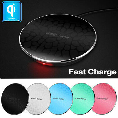 $ CDN6.32 • Buy Qi Wireless Charging Charger Pad For Apple IPhone X 8/Plus SAMSUNG Galaxy Note 8