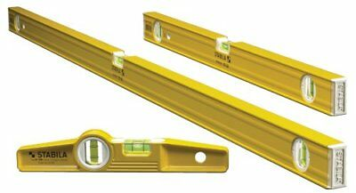 £94.01 • Buy Stabila 29824 - 3 Level Pro-Set Includes 48-Inch , 24-Inch And Die-cast Torpedo