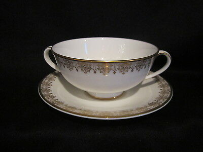 $ CDN37.50 • Buy Royal Doulton - GOLD LACE - Cream Soup Bowl And Stand
