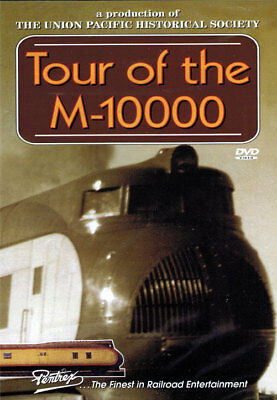 $9.95 • Buy Tour Of The M-10000 DVD Pentrex Union Pacific UP Railroad M10000 Historical NEW