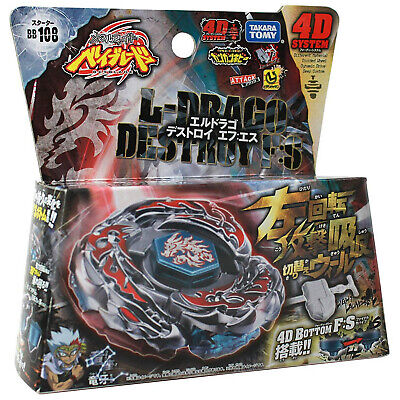 $23.89 • Buy GENUINE Takara Tomy L-Drago Destroy BB-108 Destructor F:S Beyblade STARTER SET