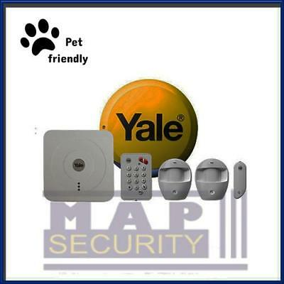 Yale Smart Home Sr-320 Wireless Wifi App Control Home Pet Friendly Alarm Kit • 354.99£