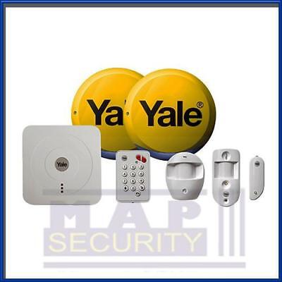 Yale Smart Wireless / Wifi Sr-330 Smart Phone Control Home Alarm Kit • 294.99£