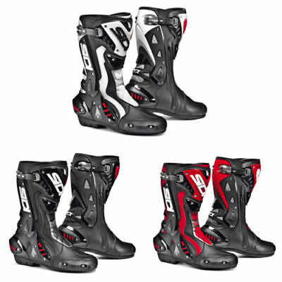 £280.65 • Buy Sidi ST Sports Track Racing Boots Motorbike Motorcycle Boots Red Black White