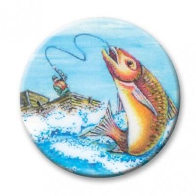 £0.99 • Buy FISHING TROPHY CENTRES - 2.5cm Fits Standard Trophies & Medals: Acrylic Inserts