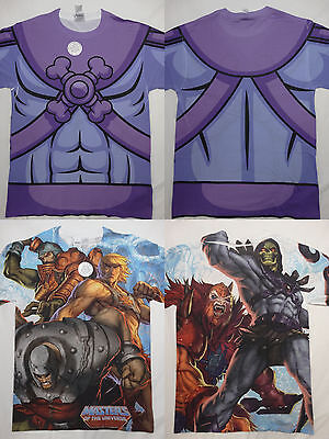 $13.95 • Buy Masters Of The Universe He Man Skeletor Man At Arms Beastman Sublimation T-Shirt