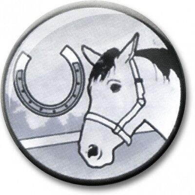 £1 • Buy EQUESTRIAN TROPHY CENTRES - 2.5cm Fits Standard Trophies & Medals