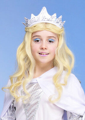 Childrens Princess Silver Tiara Crown Headband • 1.99£