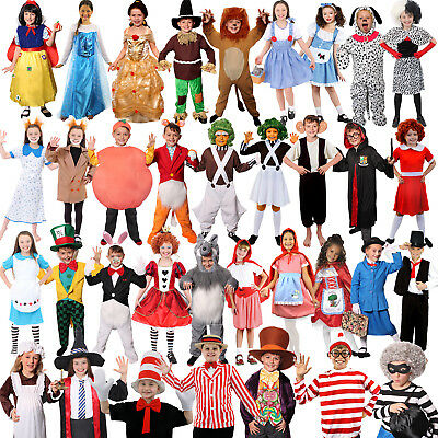 £13.99 • Buy Girls Boys World Book Day Week Character Costume Fancy Dress Choose From Lot