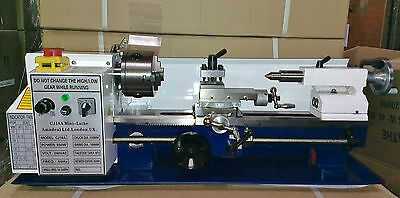 Mini Lathe - Brand New 7x14 Machine With DRO & 4  Chuck With Multiple Options  • 730£