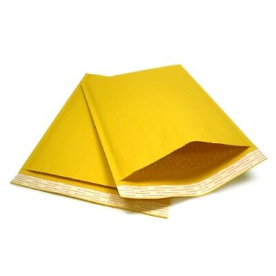 $12.95 • Buy Kraft Bubble Mailers Padded Envelopes Protective Packaging Bubble Pak Brand