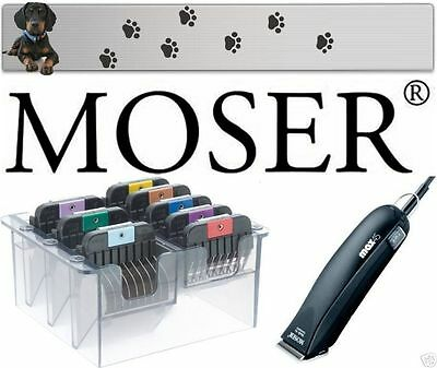 £128.55 • Buy Moser 1245 Max 45 Clipper + 1 MM Shaving Head 3 - 25 MM Stainless Steel Combs