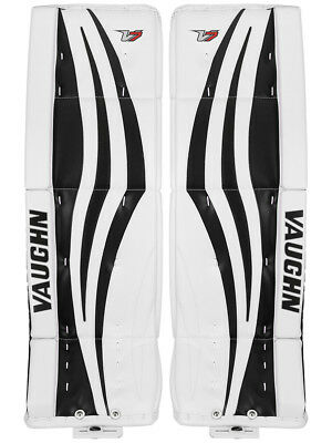 $679.99 • Buy New Vaughn Xr Pro Sr Goalie Leg Pads 32 +2 White/Black Velocity V7 Senior Hockey