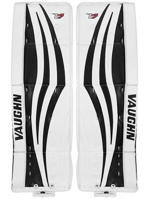 $679.99 • Buy New Vaughn Xr Pro Sr Goalie Leg Pads 34 +2 White/Black Velocity V7 Senior Hockey