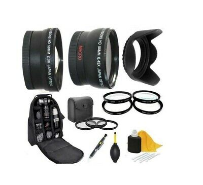 AU128.79 • Buy Accessory Kit (Lens-Filters-Bkpack) For Sony Alpha A6300 A6500 With 16-70mm Lens