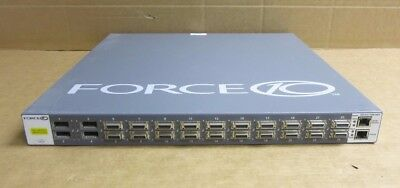 Dell Force10 S2410-01-10GE-24CP 24-Port 10GbE Ethernet Switch With 4XFP Ports • 240£