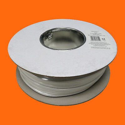 £9.95 • Buy 100m Drum White 2 Core Bell Wire Chime Solid Cca - New